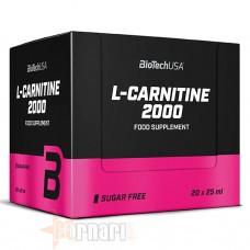 BIOTECH USA L-CARNITINE 2000 20 AMPOLLE DA 25 ML