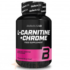 BIOTECH USA L-CARNITINE+CHROME 60 CPS