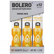 BOLERO DRINK MIX PINEAPPLE 12 STICKS X 3 GR
