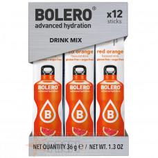 BOLERO DRINK MIX RED ORANGE 12 STICKS X 3 GR