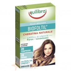 EQUILIBRA BIOFOLTIL CHERATINA NATURALE 20 CPR