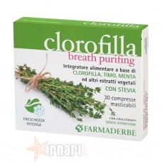 FARMADERBE CLOROFILLA MASTICABILE 30 CPR
