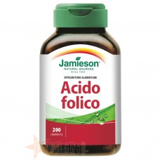 JAMIESON ACIDO FOLICO 200 CPR