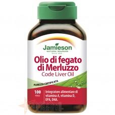 JAMIESON OLIO DI FEGATO DI MERLUZZO 100 PERLE