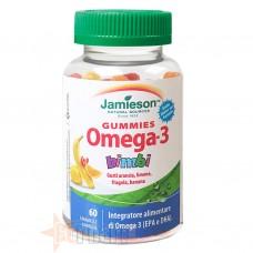 JAMIESON OMEGA-3 GUMMIES 60 CARAMELLE