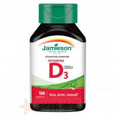JAMIESON VITAMINA D3 1000 UI 100 CPR