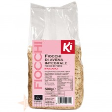 KI GROUP KI FIOCCHI DI AVENA INTEGRALE BIOLOGICI 500 GR