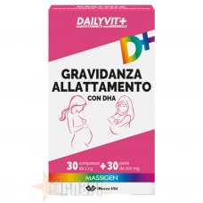 MASSIGEN DAILYVIT+ GRAVIDANZA ALLATTAMENTO 30 CPR + 30 PERLE