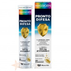 MASSIGEN PRONTO DIFESA EFFERVESCENTE 20 CPR