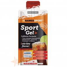 NAMED SPORT GEL CAFFEINE FORMULA 25 ML