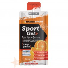 NAMED SPORT GEL PURE ENERGY FORMULA 25 ML