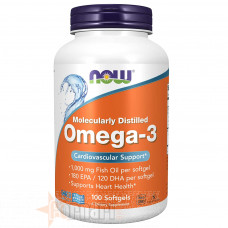 NOW FOODS OMEGA-3 100 PERLE