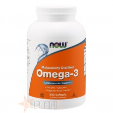 NOW FOODS OMEGA-3 500 PERLE