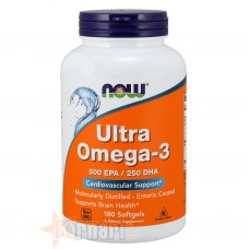 NOW FOODS ULTRA OMEGA-3 180 PERLE