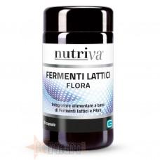 NUTRIVA FERMENTI LATTICI FLORA 50 CPS