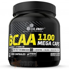 OLIMP PROFI BCAA MEGA CAPS 1100 300 CPS