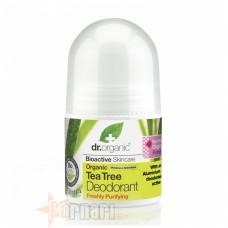 OPTIMA ORGANIC TEA TREE DEODORANT 50 ML