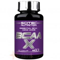 SCITEC BCAA X 120 CPS