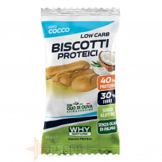 WHY NATURE BISCOTTI PROTEICI 30 GR