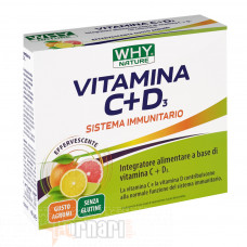 WHY NATURE VITAMINA C+D3 14 BUSTE