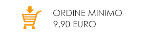 Ordine minimo 9,90 euro